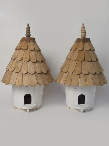 Beautiful handcrafted dovecotes