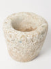 Small antique French stone mortar