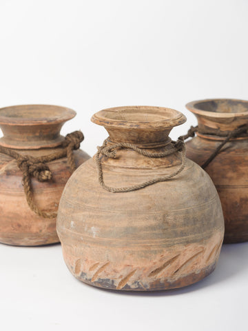 Antique Nepalese pots