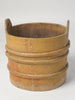 Antique 19thC Swedish Wooden Tub with lid