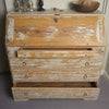 Antique 19th Century Swedish Dry scraped Secretaire Bureau