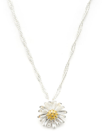 DAISY FLOWER NECKLACE by HARRIET GEORGIA JEWELLERY