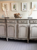 A late 19th-Centry French Enfilade, later painted in grey - Decorative Antiques UK  - 1