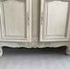 A late 19th-Centry French Enfilade, later painted in grey - Decorative Antiques UK  - 5