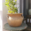 Vintage French Provencal Fluted Stoneware Pot - Decorative Antiques UK  - 5