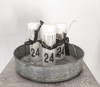 Jeanne D'Arc Living Decorated Pillar Candles - Decorative Antiques UK  - 3
