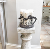 Jeanne D'Arc Living Decorated Pillar Candles - Decorative Antiques UK  - 4