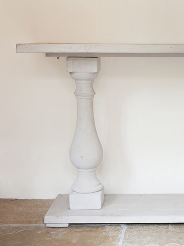 Beautiful Reclaimed Wood Console Table - Decorative Antiques UK  - 1