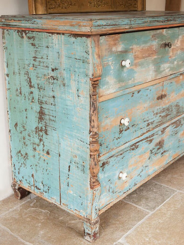 Antique Dutch Chest of drawers - Decorative Antiques UK  - 1