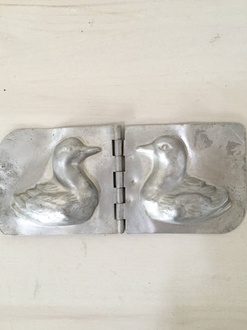 Collectible Vintage French Chocolate Duck Mould - Decorative Antiques UK  - 1