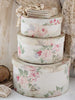 Jeanne D'Arc Living Floral Fabric Box Set - Decorative Antiques UK  - 1