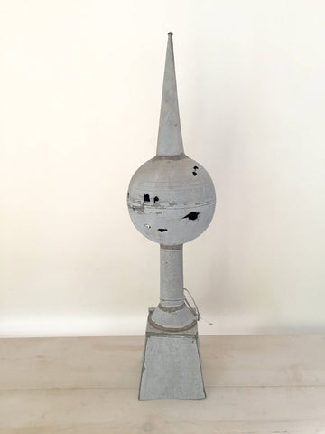 Antique 19th Century French Zinc Roof Finial