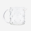 Small Glass jug with dots design