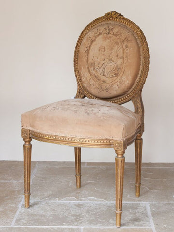 18th Century French Louis XVI chair - Decorative Antiques UK  - 1
