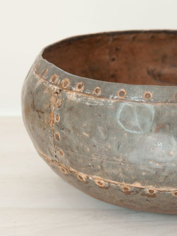 Handcrafted Metal Indian Water Bowls