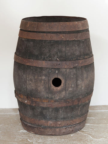 Vintage French Wine Barrel - Decorative Antiques UK  - 1