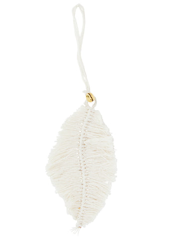 Hanging Cotton leaf decoration