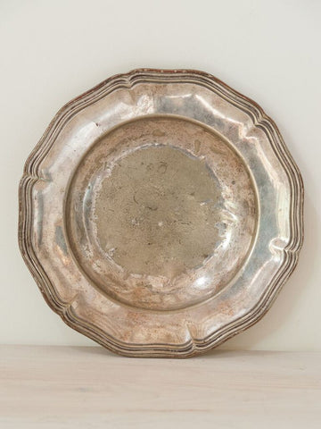 Antique French Silver Plated Dish - Decorative Antiques UK  - 1