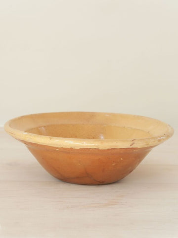 Antique Ceramic Bowl from Puglia, Italy