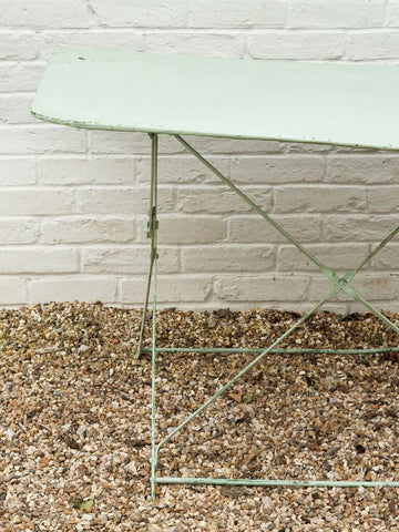Vintage French Folding Six Seater Garden Table