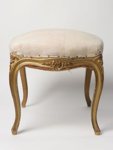 Antique 19th Century French Louis XVI Stool/Footstool