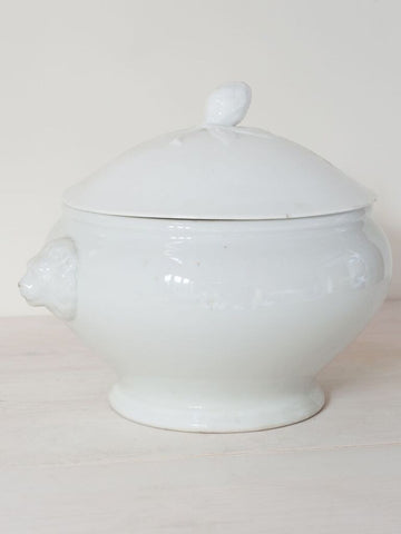 Vintage Johann Haviland German Ironstone Tureen - Decorative Antiques UK  - 1