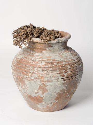 Vintage Terracotta Pot with textured exterior