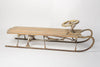Swedish Toboggan with steering wheel and brake, circa 1920