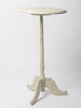 Antique French Dry scraped Pedestal Table