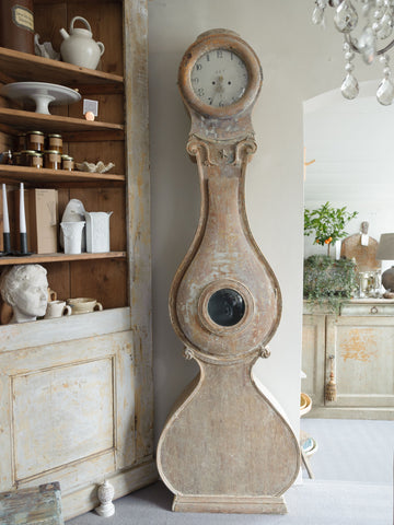 Antique 19th Century Swedish Mora clock from Varmland