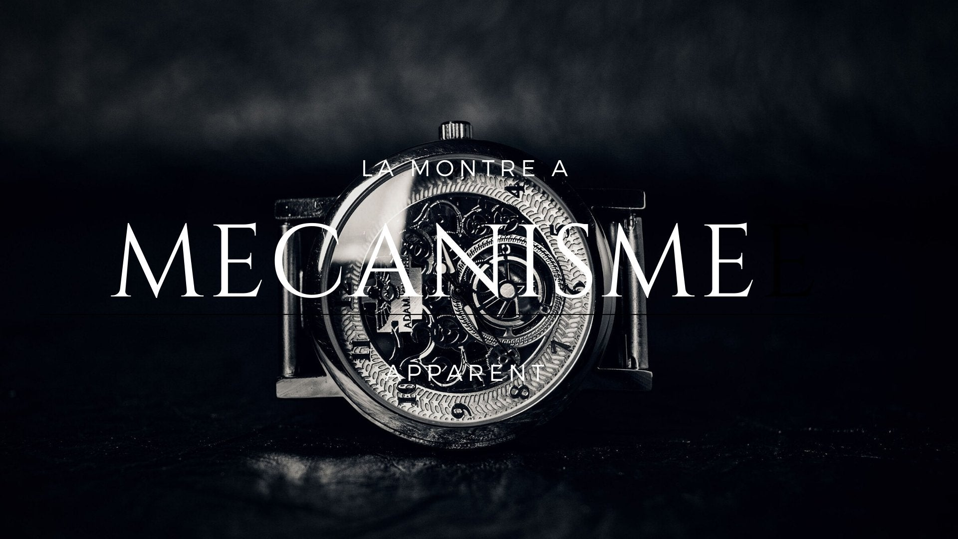 La Montre à Mécanisme Apparent