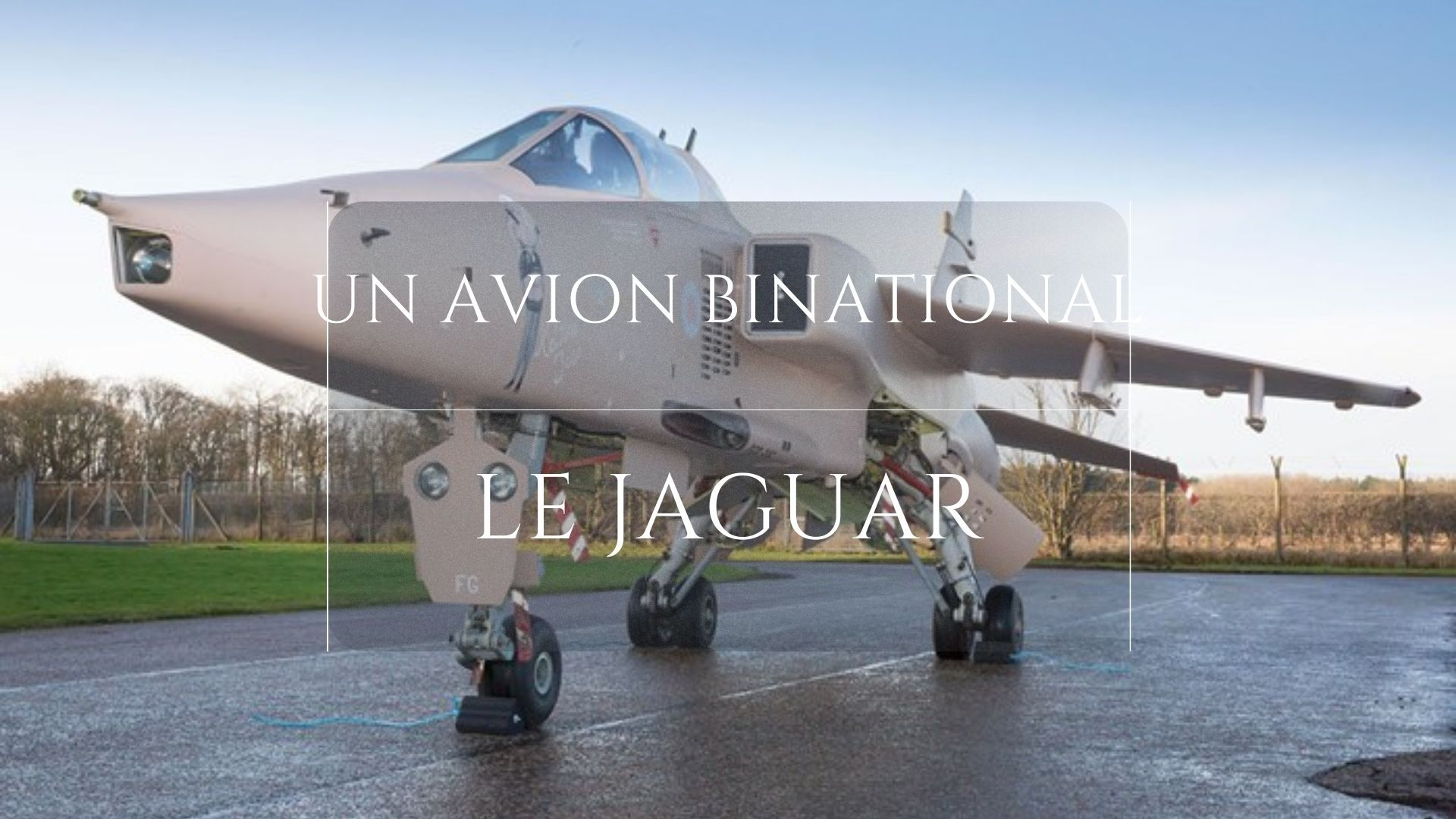 Avion binational, le jaguar