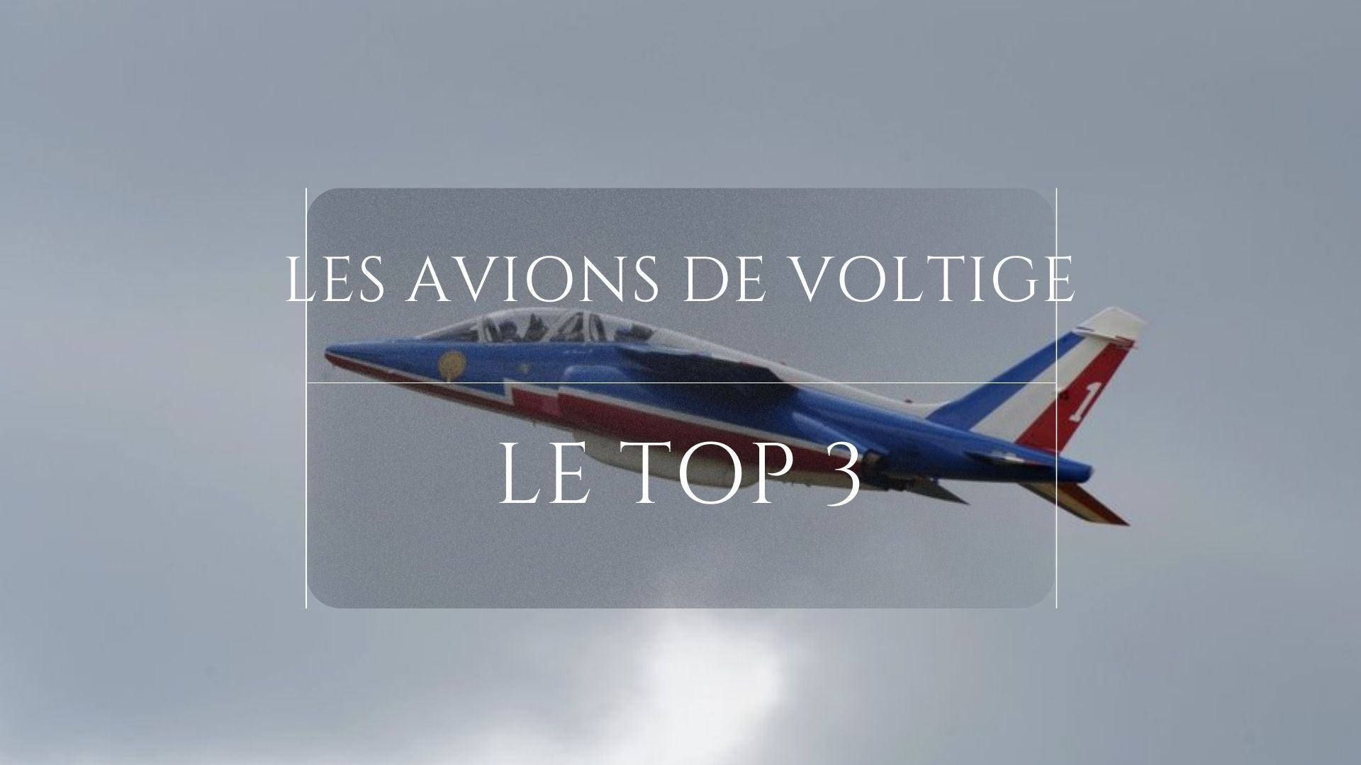 Avion de la Patrouille de France