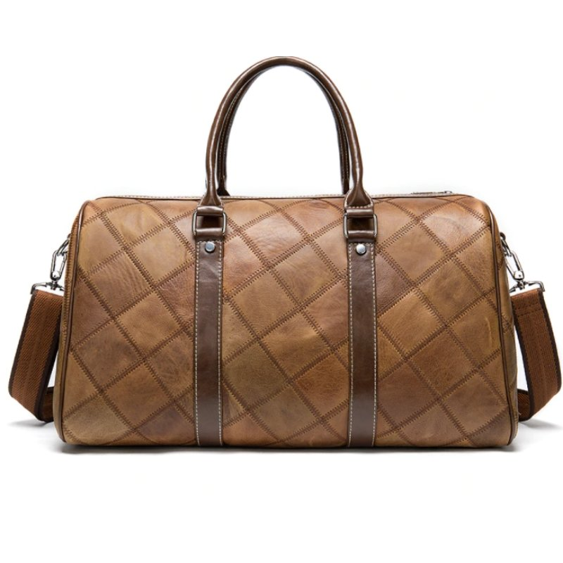 Sac Aviateur Cuir marron
