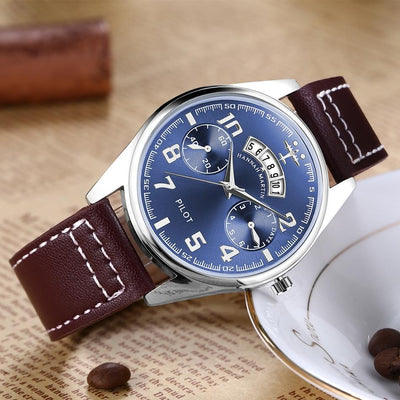 Montre Aviator Air France Luxe