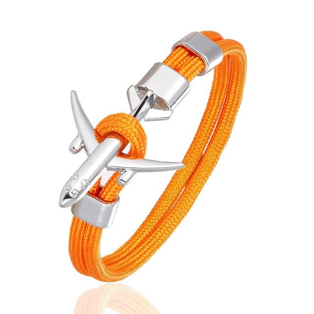 Bracelet Aviateur Orange
