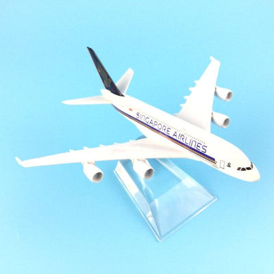 Avion Miniature A320 Singapore Airlines