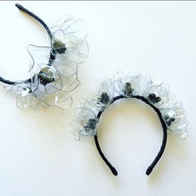 Oriental Poppy Crown - Black