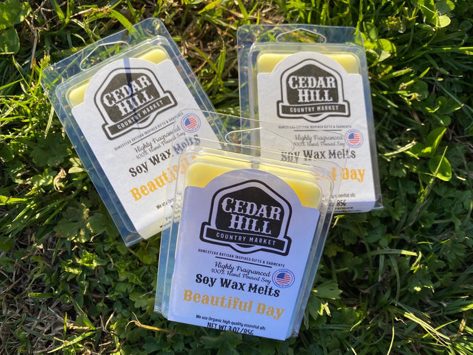 Beautiful Day Scented Wax/Tart Melts Cedar Hill Country Market