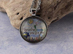 Breathe...You Got This! Necklace Cedar Hill Country Market