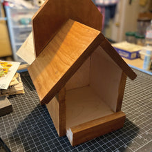 Load image into Gallery viewer, Cardinal Birdhouse Cedar Hill Country Market