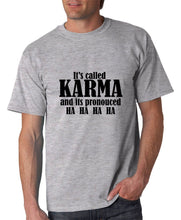 Load image into Gallery viewer, Classic Karma Graphic Funny T-shirt Cedar Hill Country Market