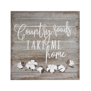 Country Roads - Perfect Pallets Home Decor Sign Cedar Hill Country Market