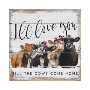 Cows Come Home - 8 x 8 - Perfect Pallet Petites Cedar Hill Country Market