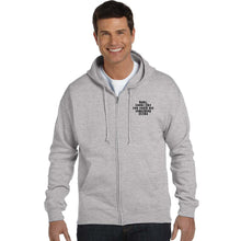 Load image into Gallery viewer, Everyone could us a Little Extra Zip Long Sleeve Hoodie Cedar Hill Country Market