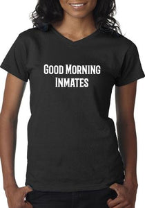 Good Morning Inmates Graphic T-shirt Cedar Hill Country Market
