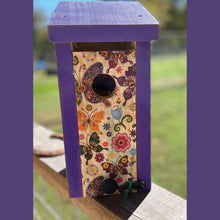 Load image into Gallery viewer, Handmade Bluebird House Solid Pine Cedar Hill Country Market