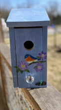 Load image into Gallery viewer, Handmade Eastern Bluebird/Carolina Wren/Chickadee/Swallow/ House Solid Pine Cedar Hill Country Market