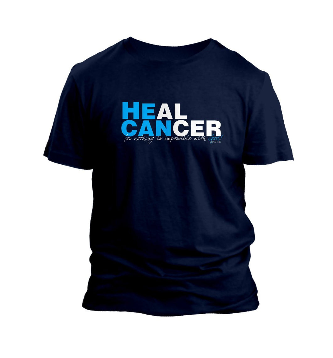 He Can Heal Cancer Graphic T-Shirt Cedar Hill Country Market