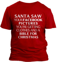 Load image into Gallery viewer, Santa Saw Your Facebook Pictures Cedar Hill Country Market
